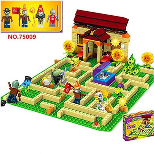 Legoingly Plants Vs Zombies Can Shoot Struck Game Action Toys Figures Building Blocks Bricks Compatible Legoingly GiftsBlocks
