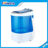 Freeshipping 190w Power Washer Can Wash 4kg Clothes Single Tub Top Loading Wahser Mini Washing Machine