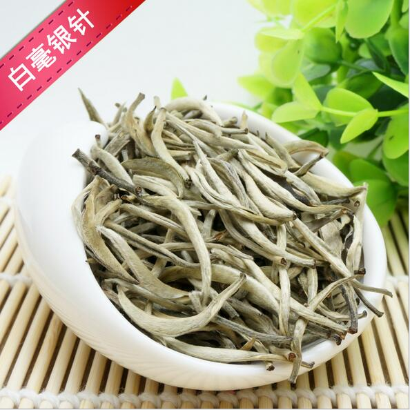 2017 New Super Grade 250g Silver Needle, Taimushan Mountain White Tea, Baihao Yingzhen Conquer blood pressure Green Food