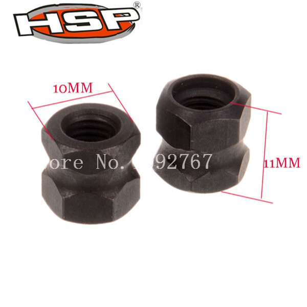 1 Pair 85787 Engine Flywheel Nut for RC 1 8 Off Road HSP 94885 Buggy 94886