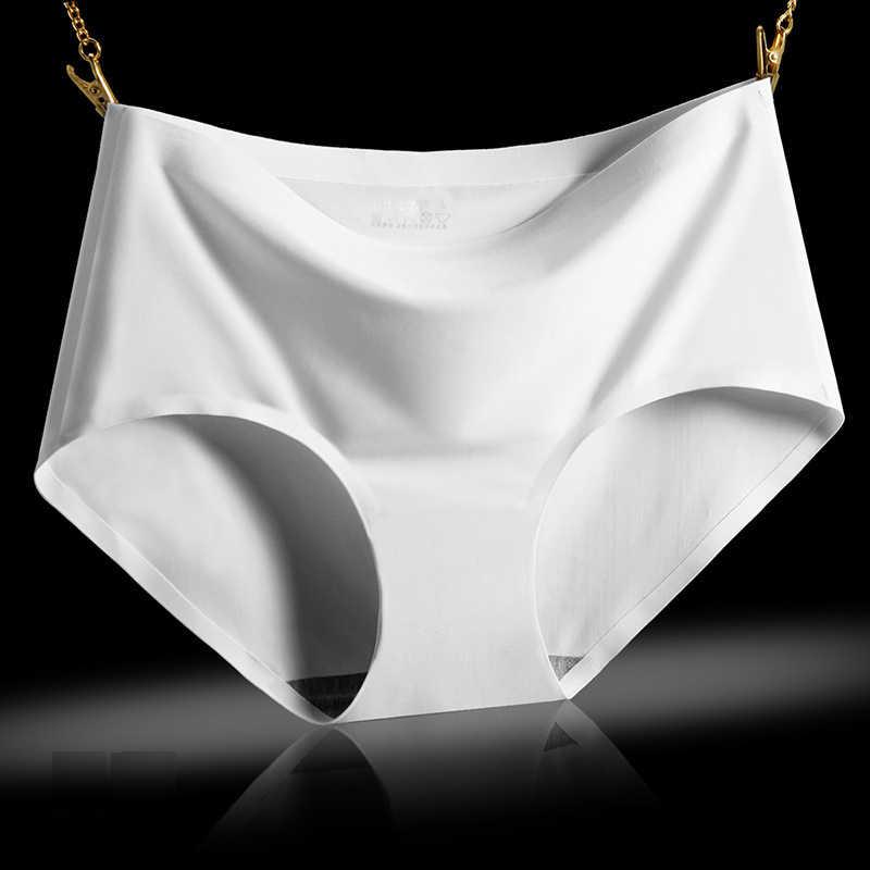 BZEL ร้อน 3 ชิ้น/ล็อตเซ็กซี่กางเกงชุดสตรีกางเกง Solid ชุดชั้นในหญิง MID-RISE Silky กางเกงสุภาพสตรี Comfort กางเกงไม่มีรอยต่อ