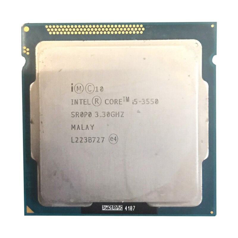 Intel Core i5 3550 3.3 GHz 6 MO Bureau processeur d'unité centrale SR0P0 Prise H2 LGA1155 i5 3550