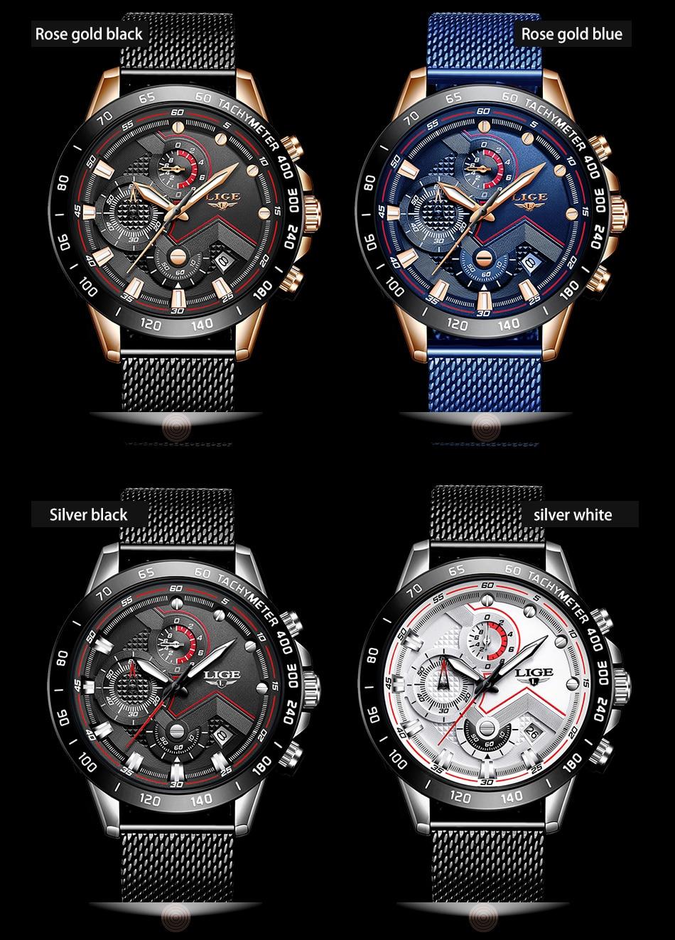 HTB1jC2VOPTpK1RjSZKPq6y3UpXa2 LIGE Fashion Mens Watches Brand Luxury WristWatch Quartz Clock Blue Watch Men Waterproof Sport Chronograph Relogio Masculino