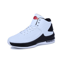 Man High top Jordan Basketball Shoes Men's Cushioning Light Basketball Sneakers Anti skid Breathable Outdoor Sports Shoes Men