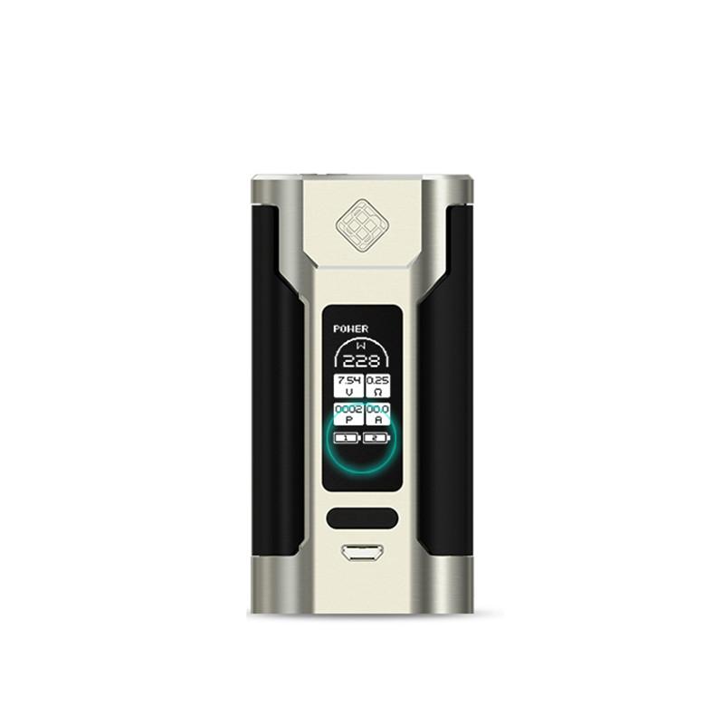 Prix pour 100% D'origine Wismec Predator 228 228 W Prédateur 228 Boîte Mod Vaporisateur PRÉDATEUR 228 W Cigarette Électronique (pas de RC adaptateur)