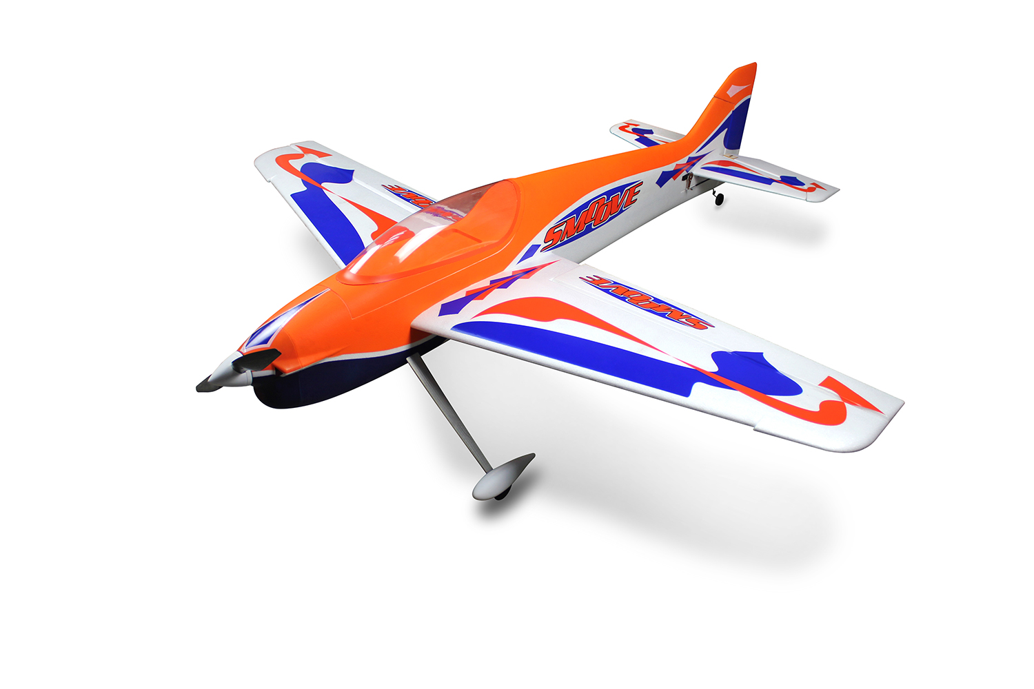 Dynam 1660mm EPO Foam Smoove RC Airplane KIT CF Propeller Model W/O ESC Motor TH03634 image