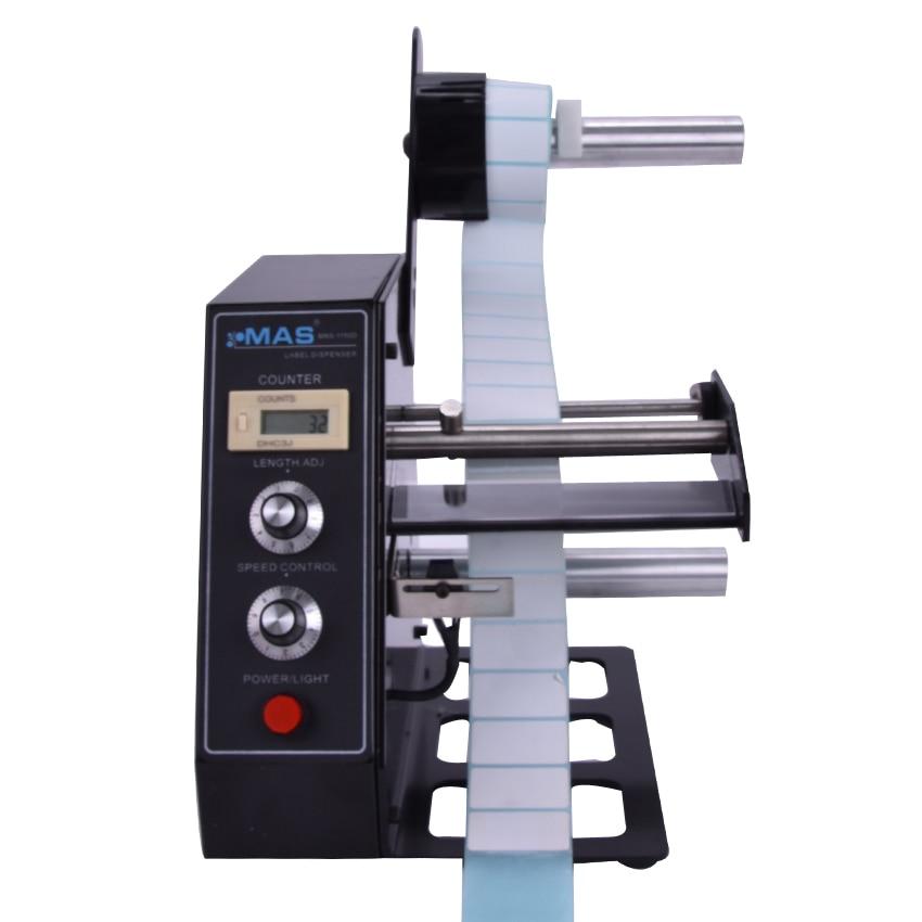 1pc Automatic Label Dispensers dispenser machine AL-1150D x 100 automatic labeler dispenser label stripping machines labeler dispenser 250mm max dia