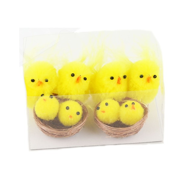 2017 new arrival free shipping 1 box cheerful cute fluffy yellow 2017 new arrival free shipping 1 box cheerful cute fluffy yellow small easter chenille chicks in negle Image collections