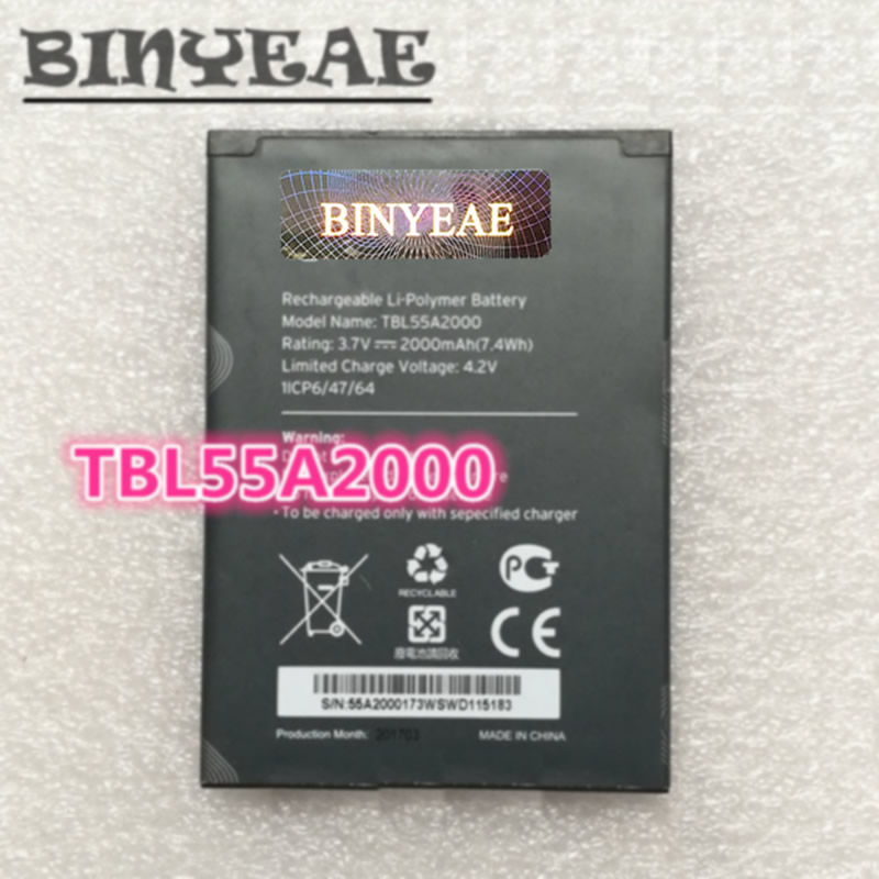 Cellphones & Telecommunications Mobile Phone Batteries Binyeae Tbl55a2000 For Tp-link M7310 Wifi Mifi Router Battery Careful Calculation And Strict Budgeting