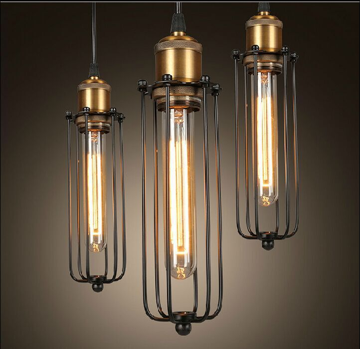 vintage edison industrielle pendentif lampe suspension. Black Bedroom Furniture Sets. Home Design Ideas