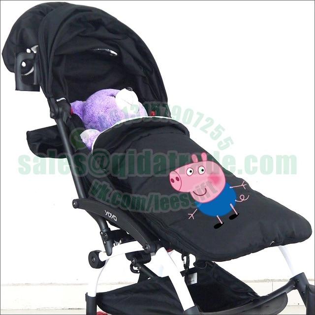 Thick Coral Fleece Winter Warm Bugaboo Baby Stroller Carrier Sleeping Bag