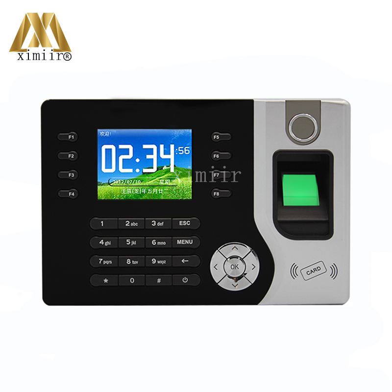 Realand A-C071 Fingerprint Time Attendance 2.8 Inch Color Screen TCP/IP Biometric Fingerprint Clock With 125KHZ RFID Card Reader k14 zk biometric fingerprint time attendance system with tcp ip rfid card fingerprint time recorder time clock free shipping