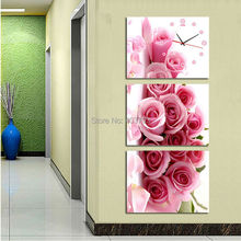 Beautiful Flower Modern Painting Printed Oil On Canvas Wall Art Picture Home Decorative