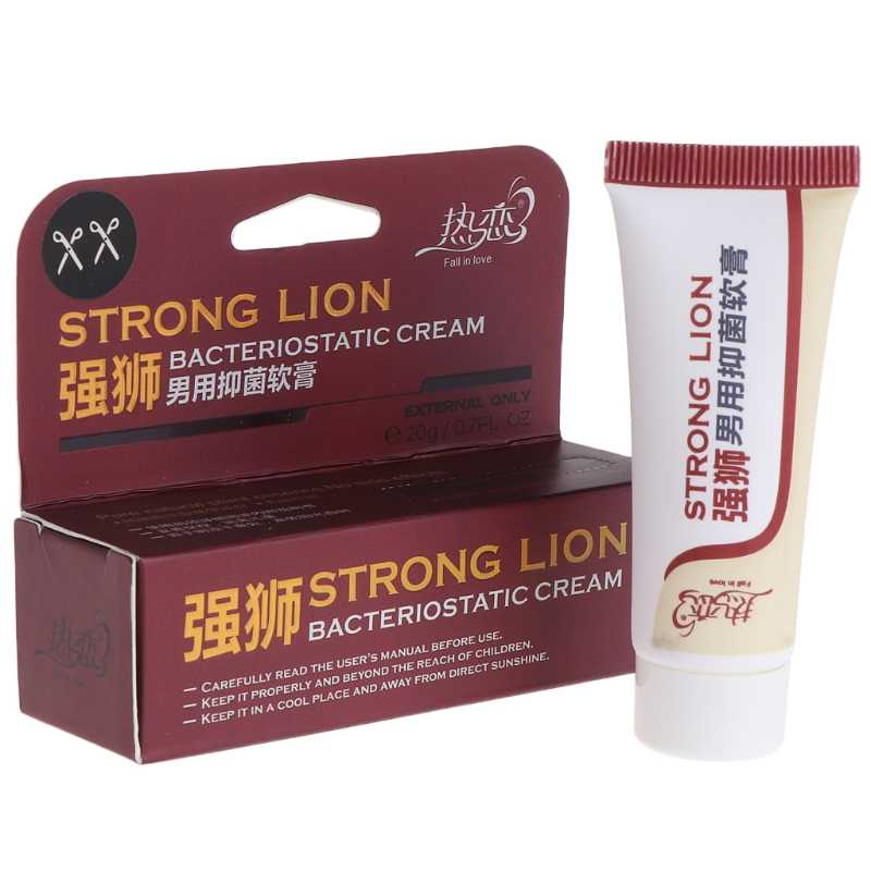 Sex Product 20g Stiff Delay Cream Ointment Delay Ejaculation Male Anti Premature 9.5x2.8x3cm