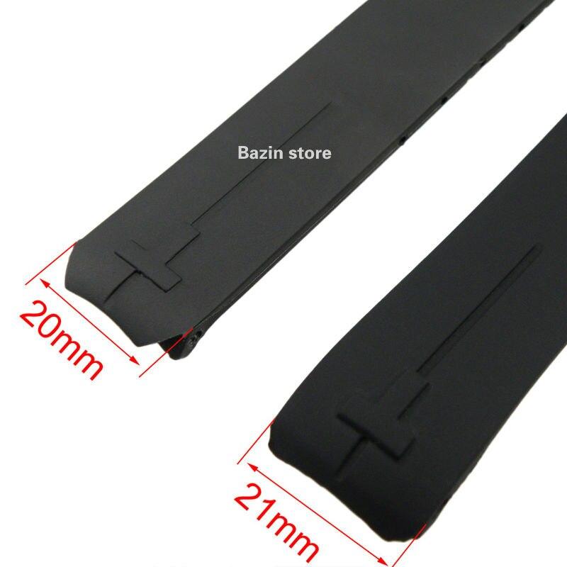 Image 3 - 20 мм 21 мм T013420A ремешок для часов T Touch II Expert черный силиконовый резиновый ремешок для часов T013420A или T047420A-in Ремешки для часов from Ручные часы on AliExpress - 11.11_Double 11_Singles' Day