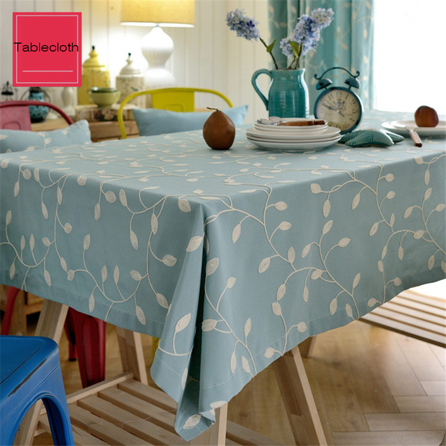 Tablecloth For Wedding Chair Covers Round Floral Linen Round Beach Towel  Embroidery Table Cloth Round Tablecloth