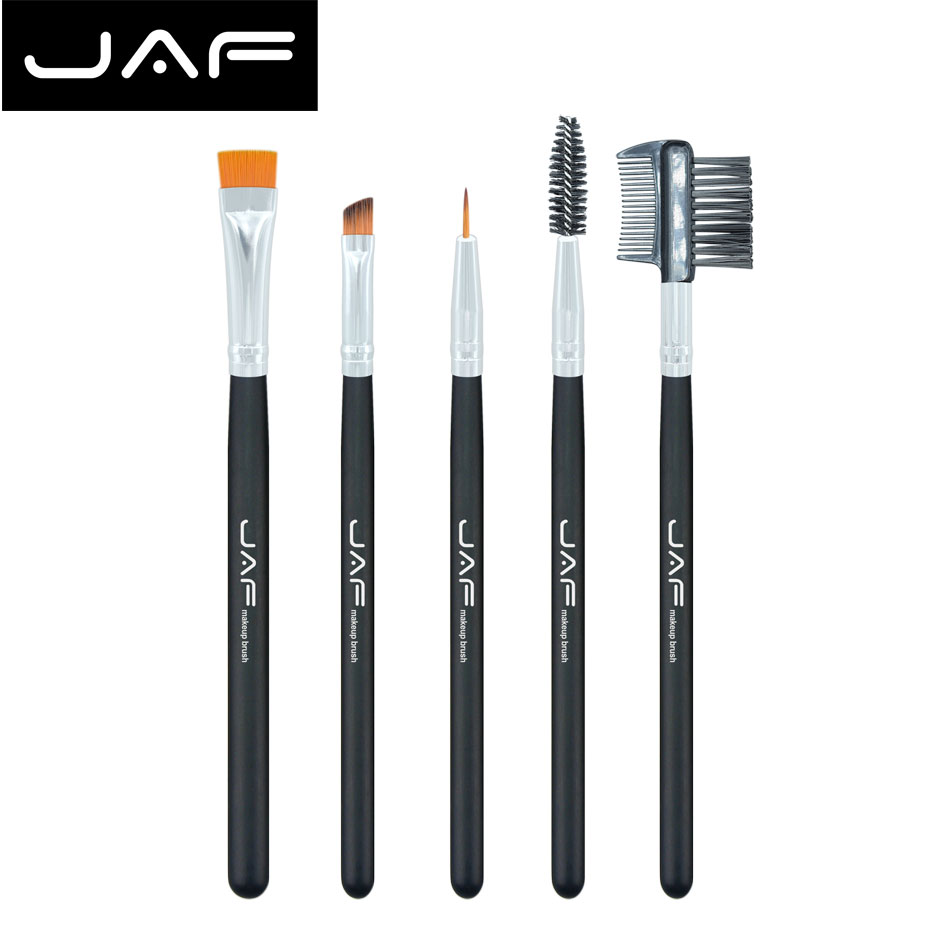 Lash Brush untuk Alis Makeup Kit Brushes Makup Brush set dari 5 pcs - Riasan