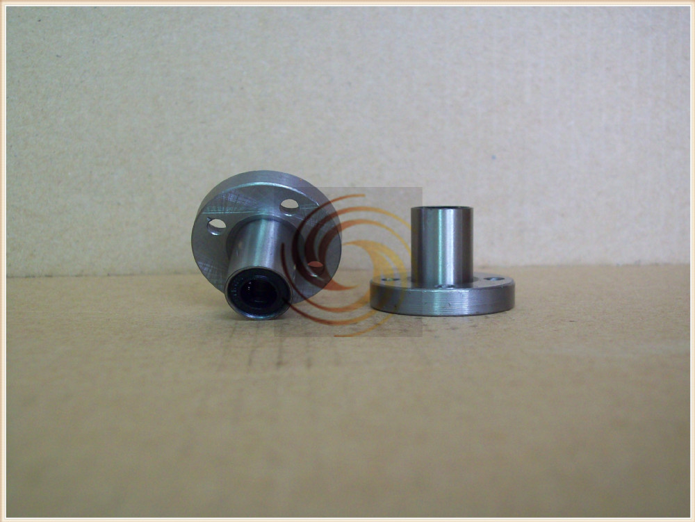 LMF80UU 80mm x 120mm x 140mm 80mm round flange linear ball bearing bushing for 80mm rod round shaft cnc part 1pcs lmf35uu 35mm x 52mm x 70mm round flange linear bushing ball bearing