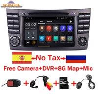 2019 Latest Android 9.0 IPS Touch Screen Car DVD Player For Mercedes Benz E Class W211 E200 E220 E300 E350 Quad Core Wifi Radio