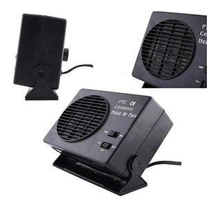 Image 4 - Mini condicionador de ar para carro 12 v carro portátil 2 em 1 ventilador elétrico e aquecedor 300 w descongelador demister velocidade aquecimento rápido