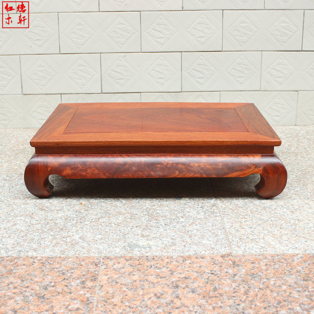 Myanmar Pear Mahogany Wood Coffee Table A Few Kang Bed Desk Small Tatami Tables Teasideend