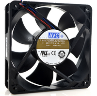 Free shipping DATA1232B8U Industrial Computer Inverter Cooling Fan DC 48V 0.43A 12CM 12032 120*120*32mm 3 Wires