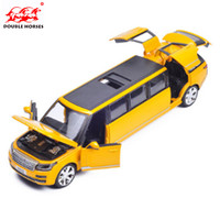 High Simulation 1 32 Range Rover Lengthening Alloy Car Model Metal Diecast Toy Vehicles With Pull