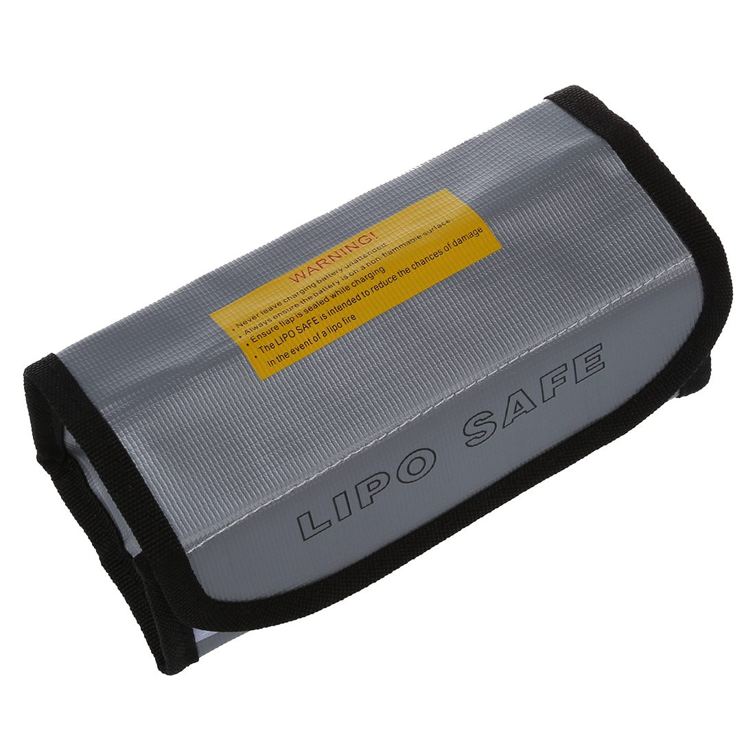 New 18.5 * 7.5 * 6cm Silver High Quality Glass Fiber RC LiPo Battery Safety Bag Safe Guard Charge Sack