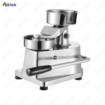 HF150 Stainless steel manual hamburger machine Hamburger Meat Pie Presser for restaurant 1