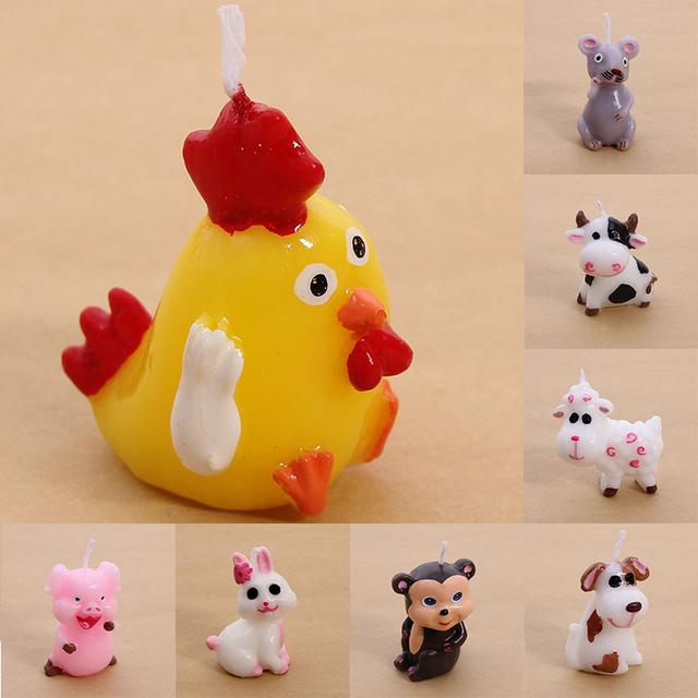 Chicken Birthday Candle