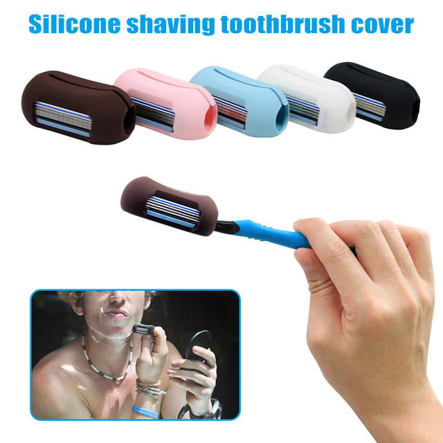 Multifunctional Mini Razor with Toothbrush Cover