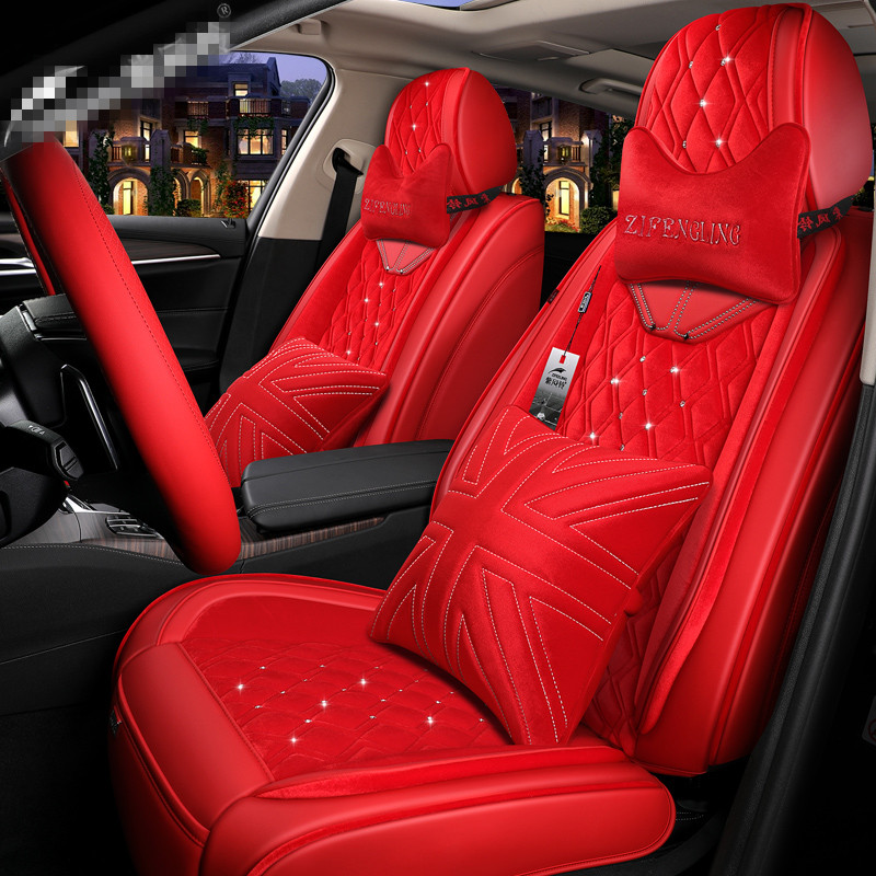 2019Customization Car Seat Cover General Cushion Artificial Leather Car Stylin For BMW Audi Toyota Honda Ford volkswagen