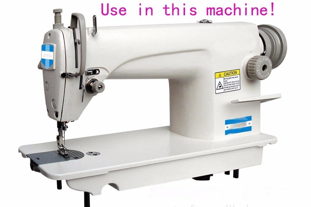 Máquina De Coser Industrial 10 BOBINAS FIT HERMANO máquinas Juki doble pespunte Jack,
