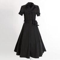 Free Shipping Pin Up Vestidos Rockabilly Robe Bridesmaid Wedding Kleider Modcloth Dresses Mid Calf Length Long