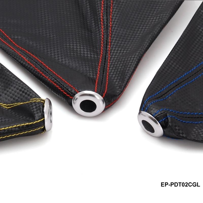 Perilla de la palanca de cambios de la fibra de carbono negro - Accesorios de interior de coche - foto 4
