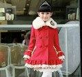 2014 Newest Girl Princess Wool Coats,Children Girl  Outerwear,Girls Winter Coat