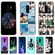 Phone Case Kpop Exo Lucky One For Samsung Galaxy A3 S6 S7 Edge S8 S9 Plus 2016 2017(China)
