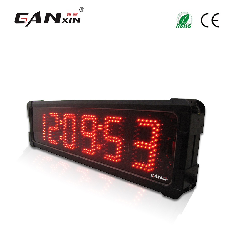 d610b09f409  Ganxin  2017 Hot New Personalizado Função Led Multi cor Relógio de Parede  em Relógios de parede de Home   Garden no AliExpress.com