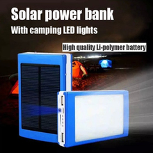 20 LED PCBA Circuit Board Solar Panel Home DIY Bank 18650 Battery Waterproof Portable Charger