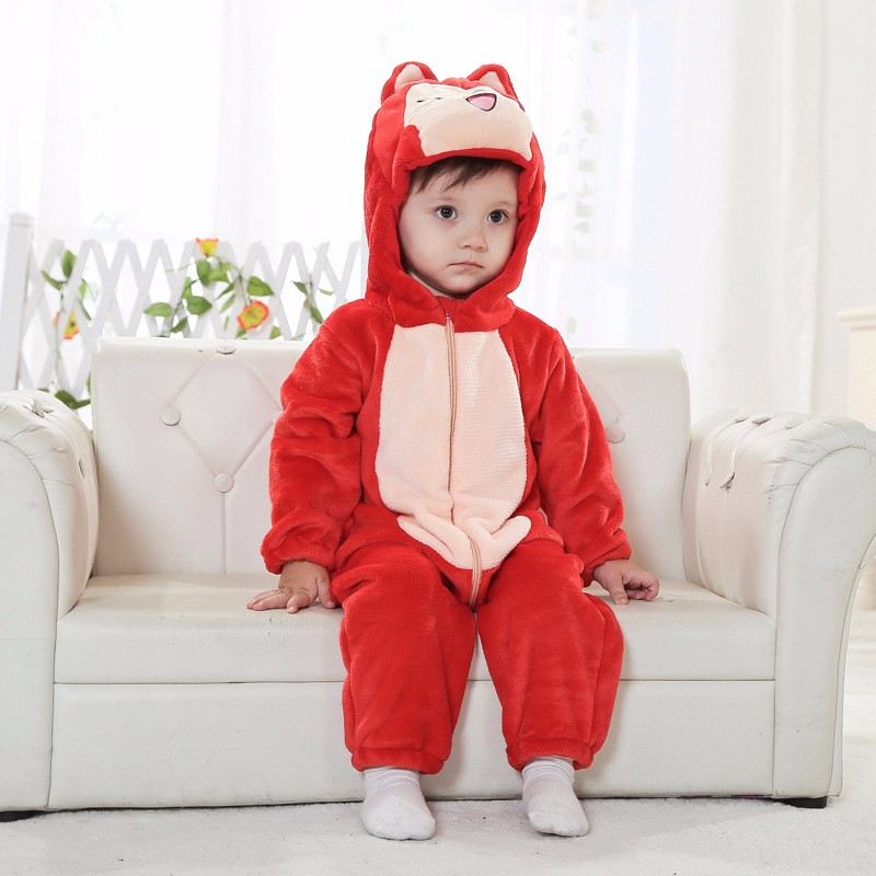 baby fleece snowsuits