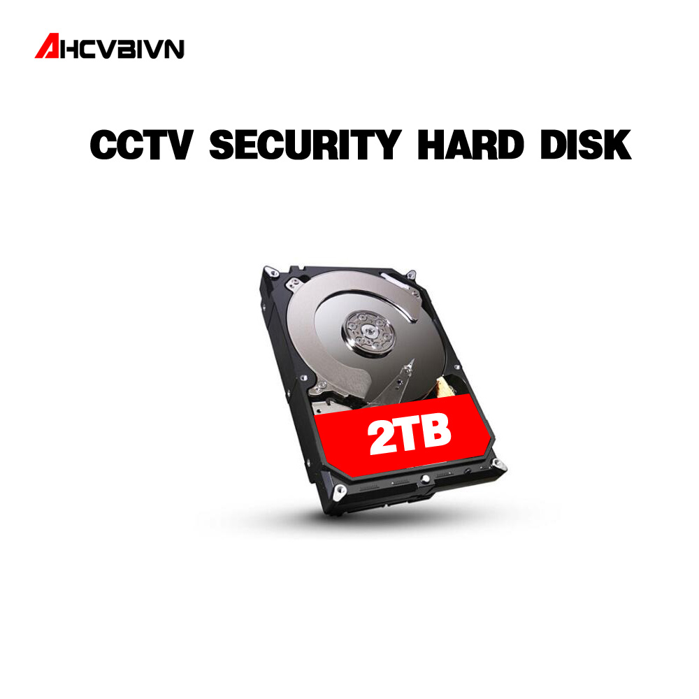 AHCVBIVN SATAIII Hard Disk Drive HDD 2TB 2000GB 64MB 7200rpm for CCTV System DVR NVR Security Camera Video Surveillance Kits