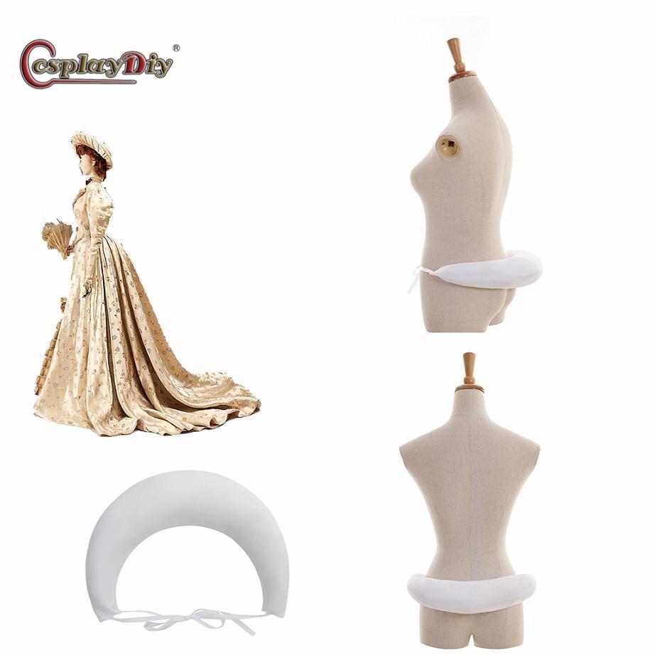 Medieval Crinoline Rococo Underskirt Renaissance Petticoat Flower Girl Women Victorian Cage Dress Cosplay Accessories