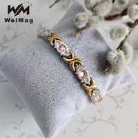 WelMag Magnetic Copper Bracelet Bangles For Women Benefits Of Pure Copper Bracelet Therapy For Arthritis Bio