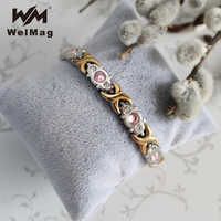 WelMag Magnetic Bracelet & Bangles for Women Benefits of Germanium Bracelet Therapy for Arthritis Bio Energy Healthy Bracelets