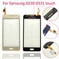 G530 g530h g5308 toque digitador da tela para samsung galaxy grand prime sm-g531f g531 g531f sensor de vidro do painel de toque de tela sensível ao toque