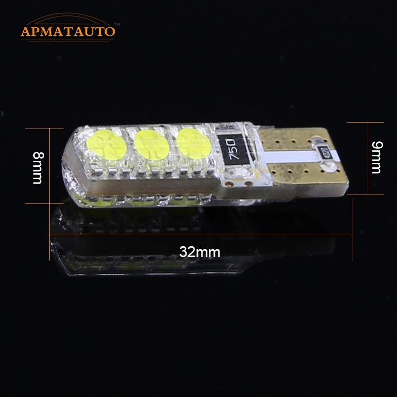 2 x T10 W5W 12V LED-es kivilágítási jelzőlámpa izzóforrás a - Autó világítás - Fénykép 4