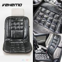 Car Vehicle Seat Cover Luxury Genuine Leather Cushion Protector Interior Accessories Black High Quality