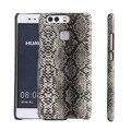 Змеиной Шаблон Тонкий PU кожа Вернуться Case Обложка Для Huawei P9 P9Lite PC Phone Case Для Huawei P9 Lite Case