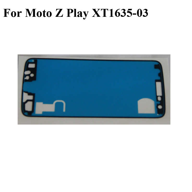 2PCS Adhesive Tape For Lenovo Moto Z Play XT1635 XT1635-03 3M Glue Front LCD Supporting Frame Sticker For Moto Z Play