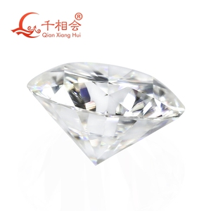 Image 3 - 6.5mm DF  color white Round Brilliant cut moissanites loose stone with GRA certificates